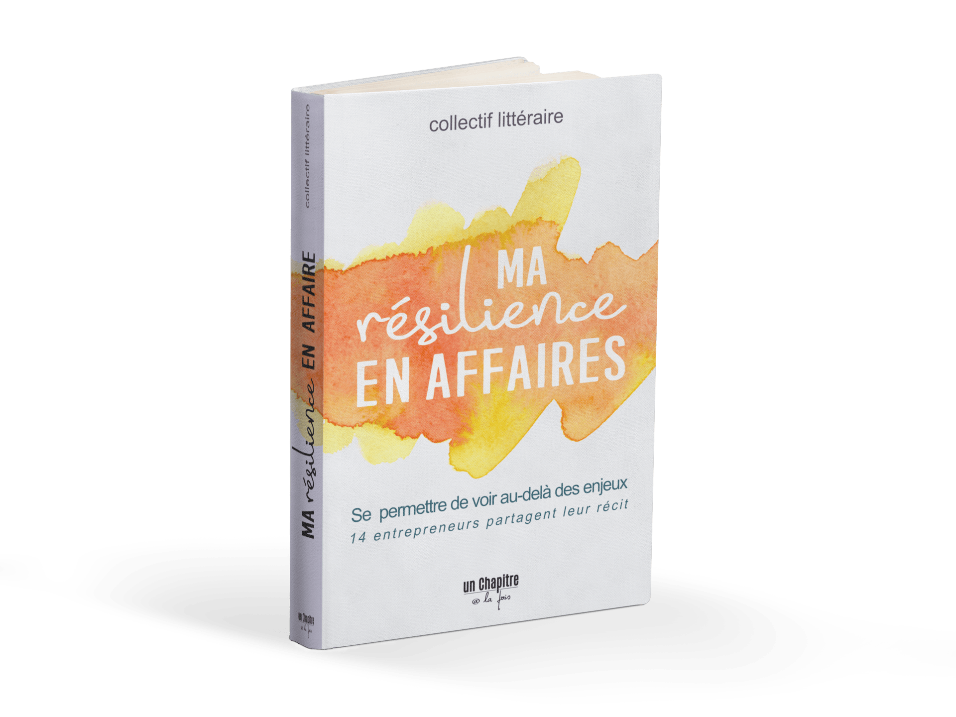 Livre La Résilience en affaires (pré-vente)