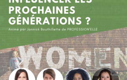Panel – Influencer les prochaines générations